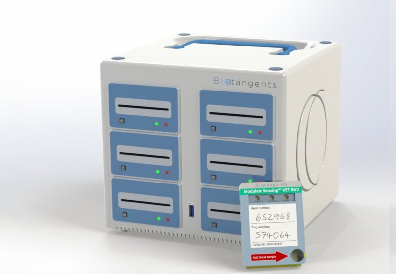 The molecular diagnostic device developed at Biotangents will allow a quick and accurate identification of infectious diseases