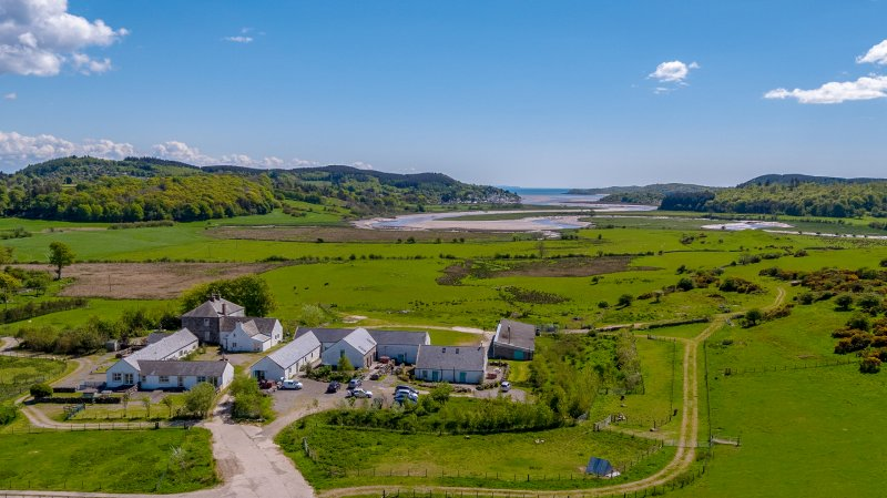 Located in a rural coastal position around three miles from Dalbeattie, the property is a diverse farm portfolio extending to some 238 acres