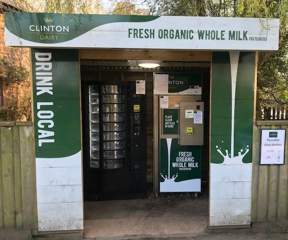 Clinton Dairy has cut its vending machine milk prices to support vulnerable members of the community