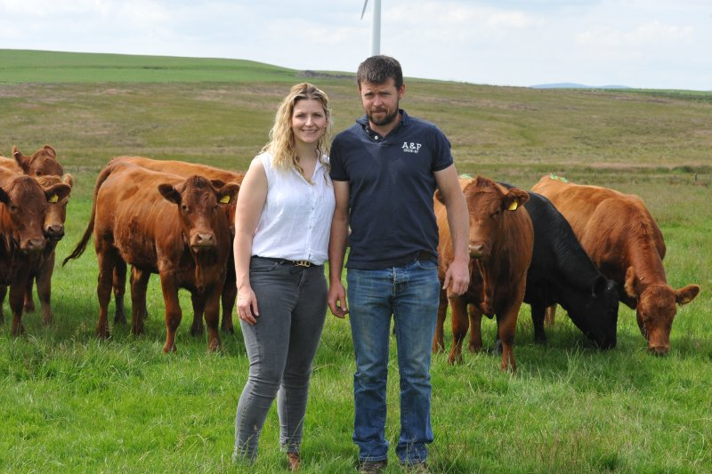 Farmers Llion and Sian Jones want to reduce the calving period from 12 weeks to 10 to make the herd as productive and profitable as possible