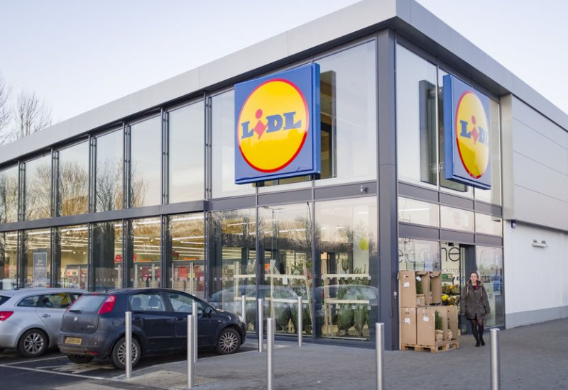 Lidl has been criticised for stocking caged Dutch white eggs sold under a 'North Egg' brand
