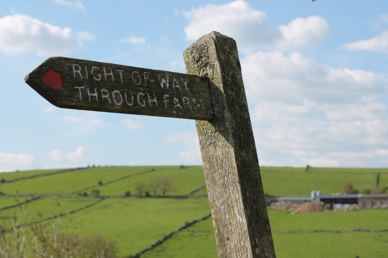 The National Sheep Association has asked the public to show 'more respect' for the countryside