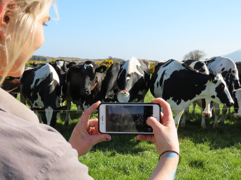 Anna has not only helped promote the family farm business but also positioned herself as a leading influencer