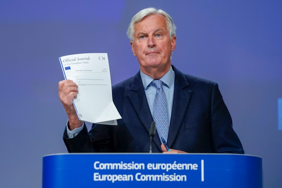 EU's Michael Barnier said 'no significant progress' had been made last week. The CLA warns that without a trade agreement 'thousands' of farmers would 'go out of business'