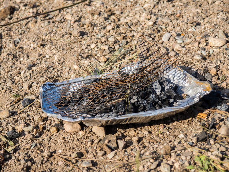 Disposable barbecues left in the countryside have led to hundreds of acres of land torched
