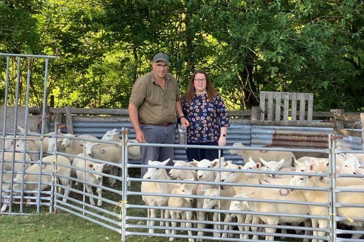 Philippa and Gareth Davies run a 120-acre lowland farm in Llangeitho near Tregaron