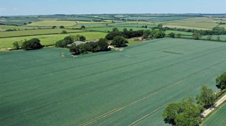 The land is highly productive Lincolnshire Wold and capable of producing 'very good yields' of arable crops (Photo: JHWalter)