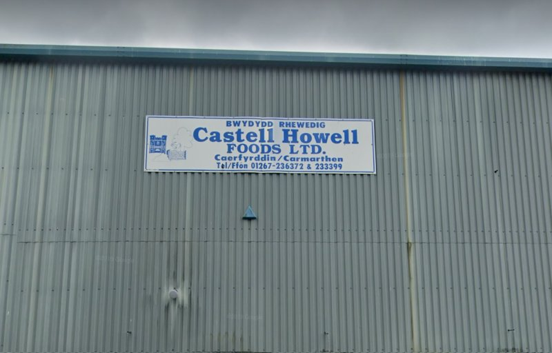 Food wholesaler Castell Howell Foods Ltd says the firm has entered into a period of consultation with workers over potential job losses (Photo: Google)