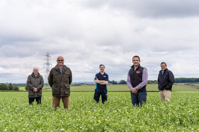 The collaborative farm-based project launched in East Yorkshire could significantly slash CO2 levels