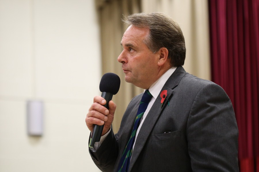 Neil Parish MP, chair of the EFRA committee, says dairy farmers have been 'hit hard' by the ongoing Covid-19 crisis