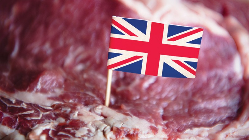 The NFU says the reopening of the hospitality sector is 'significant' for British farmers