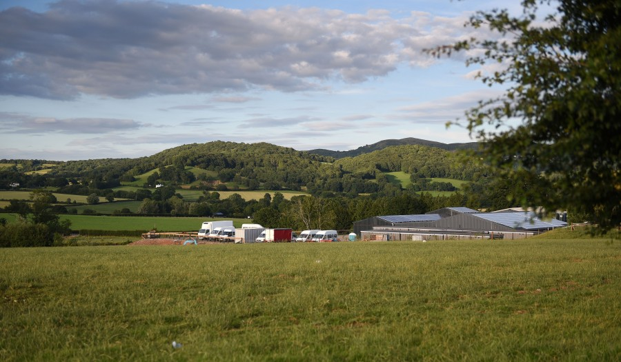 Dozens of vegetable pickers have tested positive for coronavirus on the Herefordshire farm (Photo: STR/EPA-EFE/Shutterstock)