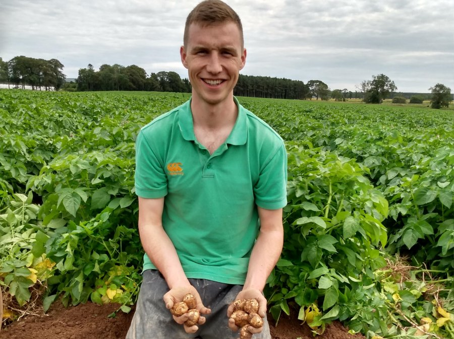 A trial in Scotland looked at precision technology to predict tuber size of potatoes for growers to boost yield and profits