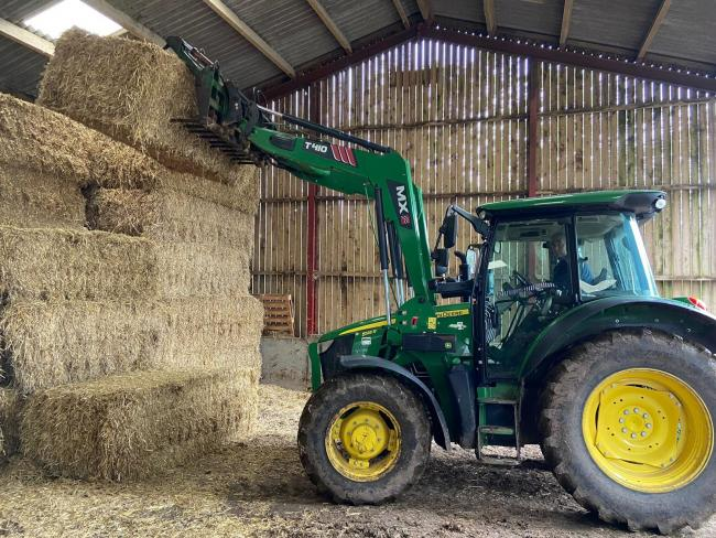 Recent data shows that stacking and transporting bales is a significant safety risk on-farm