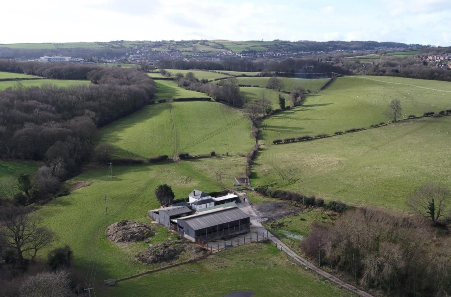 Crescent Farm is a commercial farm in Flintshire, extending in total to 78 acres (Photo: Atchams)
