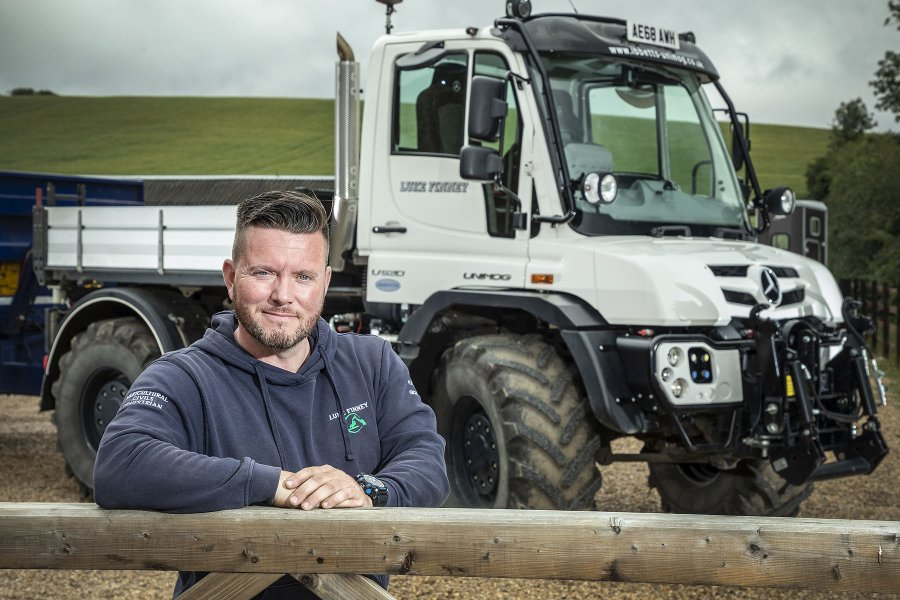 Luke Finney focuses on providing a service for high-end customers – and his choice of tools for the job reflects this