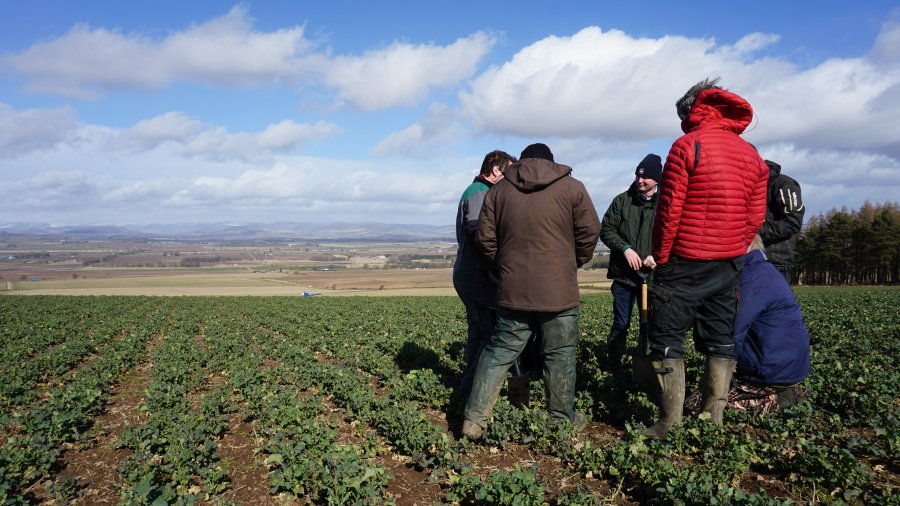 Five farmers in the East of Scotland are looking at ways to revitalise soil health and remain profitable