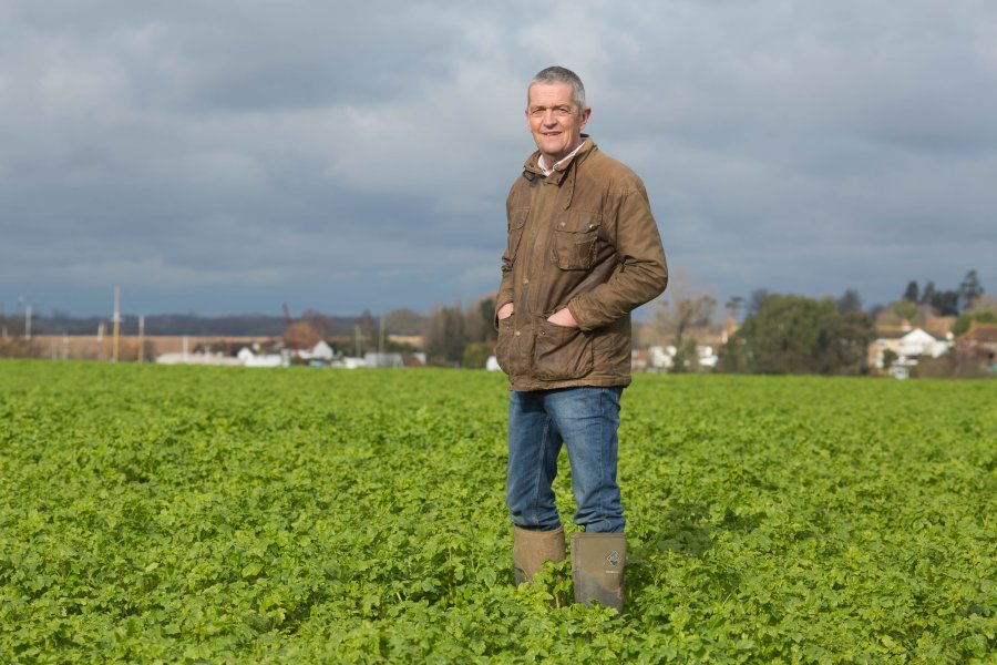 Guy Smith, the NFU's former deputy president, has been appointed new Red Tractor crops sector chair