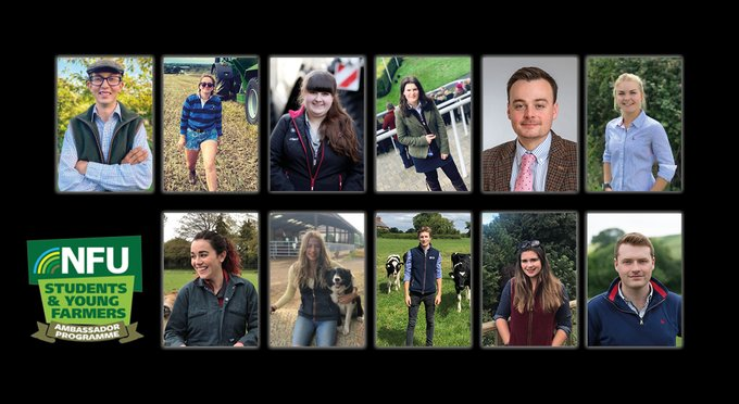 The programme gives young people between the ages of 18 and 26 years the chance to become a leading voice for farming in Britain