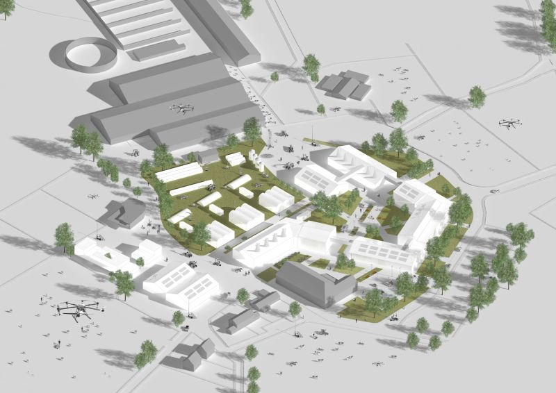 The design for the Digital Innovation Farm at Hartpury