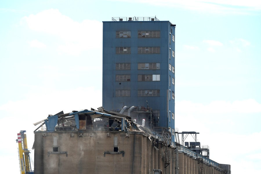The Essex site, Britain's largest terminal for the import and export of grain, experienced a substantial explosion in early July (Photo: Martin Dalton/Shutterstock)