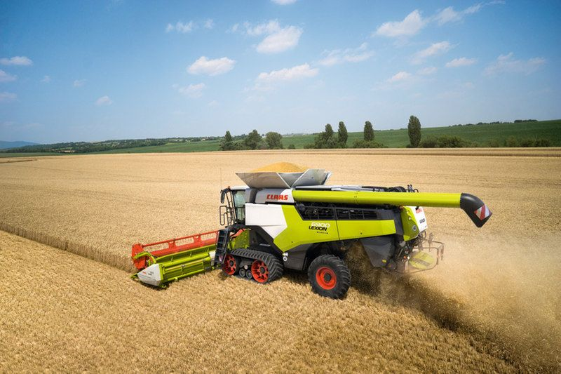 A total of seven new models are available in the range, comprising four 6-walker Lexion 6000 versions and three 5-walker 5000 models