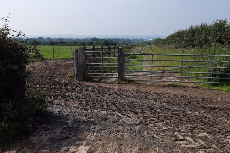 Police issue warning to public after cows escaped this farm gate (Photo: Cheshire Constabulary)