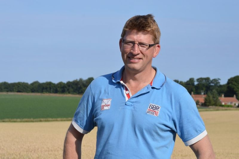 East Lothian farmer Willie Thomson says harvest 2020 has been a 'frustrating one'
