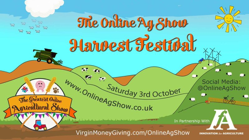The popular virtual event will return in October with an online harvest festival