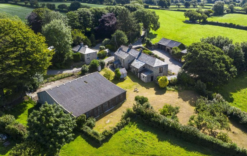 The historic farmstead is for sale with planning permissions (Photo: Savills)