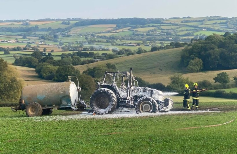 A farmer has raised the value of rural fire services following the incident (Photo: Seaton Fire Station)