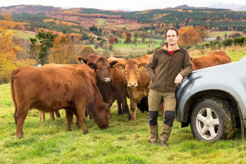 Scottish farmer David Girvan has made the most of the in-bye grass and forage crops to help cut costs and boost outputs