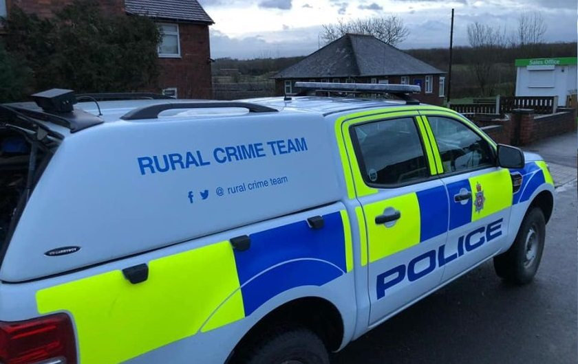 Police are asking for more information following the incident (Photo: Derbyshire Rural Crime Team)