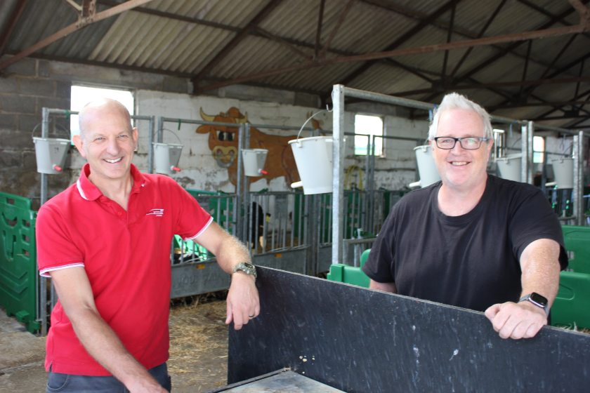 Dairy farmers from Pomeroy Farm on the Wiltshire-Somerset border are using the product for a variety of purposes within their operation