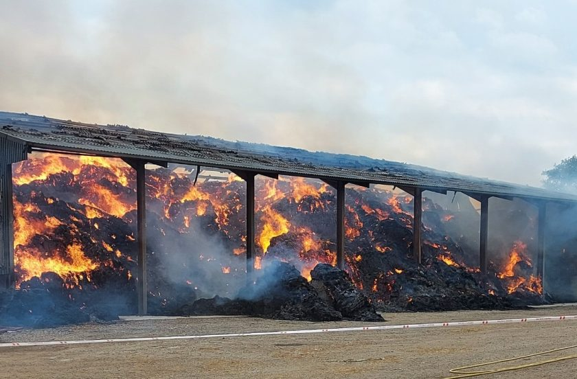 Fire crews worked through the night to tackle the blaze (Photo: Cheshire Fire and Rescue Service)