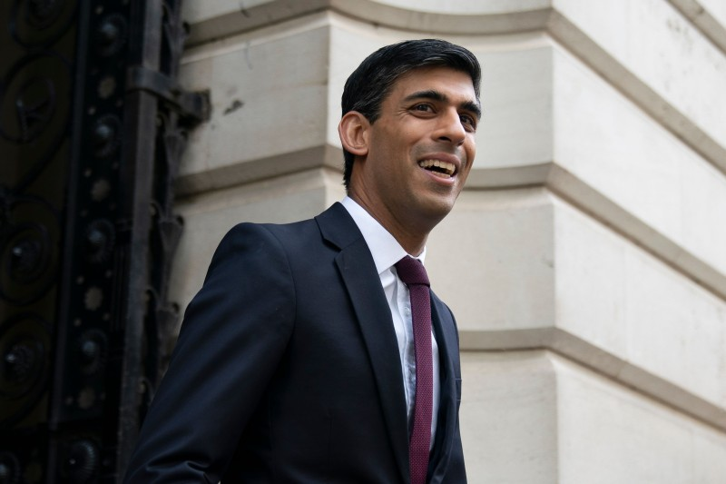Chancellor Rishi Sunak has set out plans to help workers and businesses hit by new Covid1-9 restrictions (Photo: WILL OLIVER/EPA-EFE/Shutterstock)