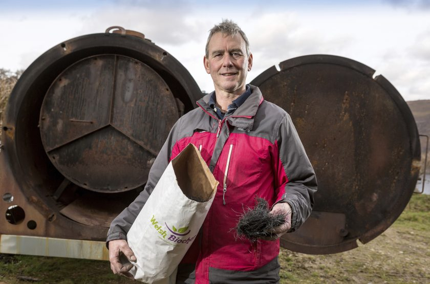 Welsh upland farmer Tony Davies believes biochar use is likely to become more widespread in British farming