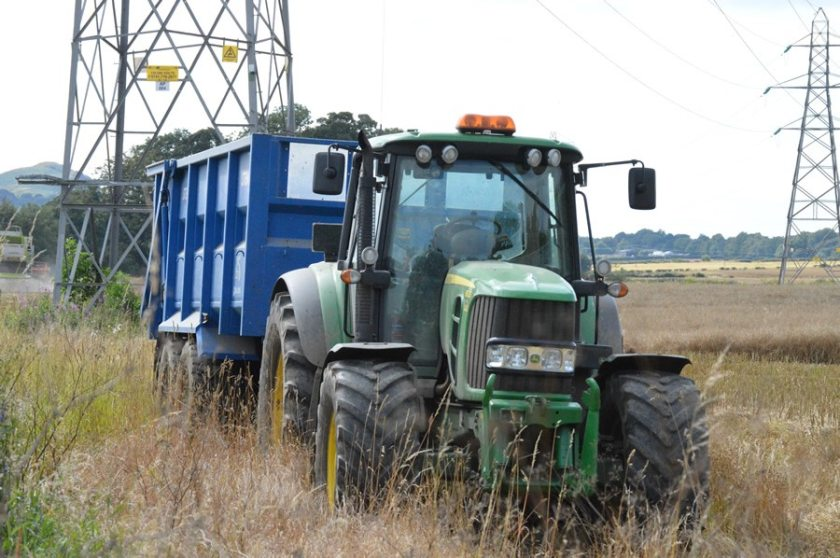 Farmers and crofters have a legal responsibility to keep roads clear from mud and muck