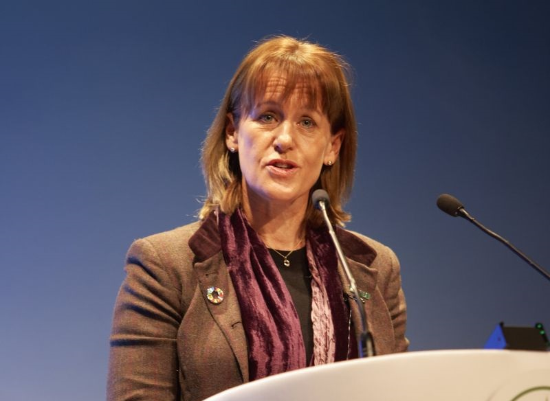 NFU President Minette Batters says the UK now risks seeing an increase in low-quality food imports