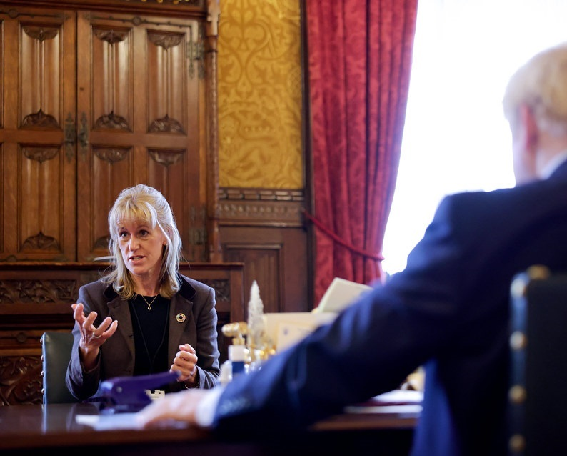 Minette Batters urged the prime minister to increase parliamentary scrutiny of future trade deals