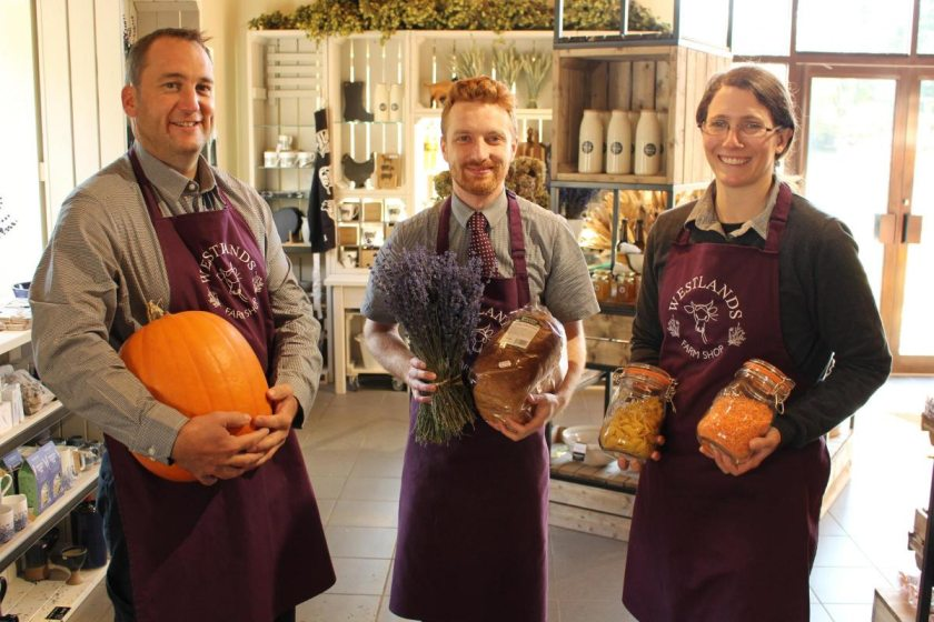 The farm shop has been given a £60,000 revamp by its second generation farmer-owners