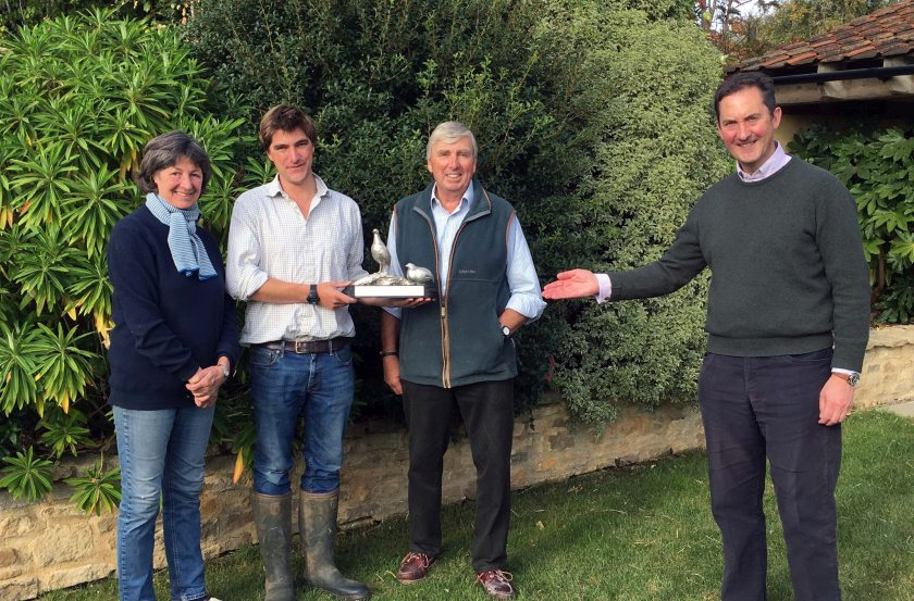 The farming family boost grey partridges through a number of on-farm environmental measures