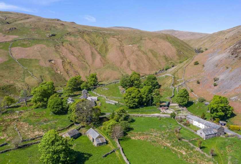 A secret bidder has spoiled a community effort which had a nature-friendly plan for the rare farm (Photo: Savills)