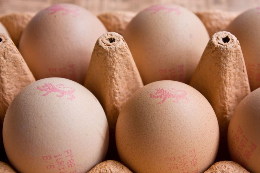 The FSA said the eggs affected were in batch '1UK15270' (Stock photo)