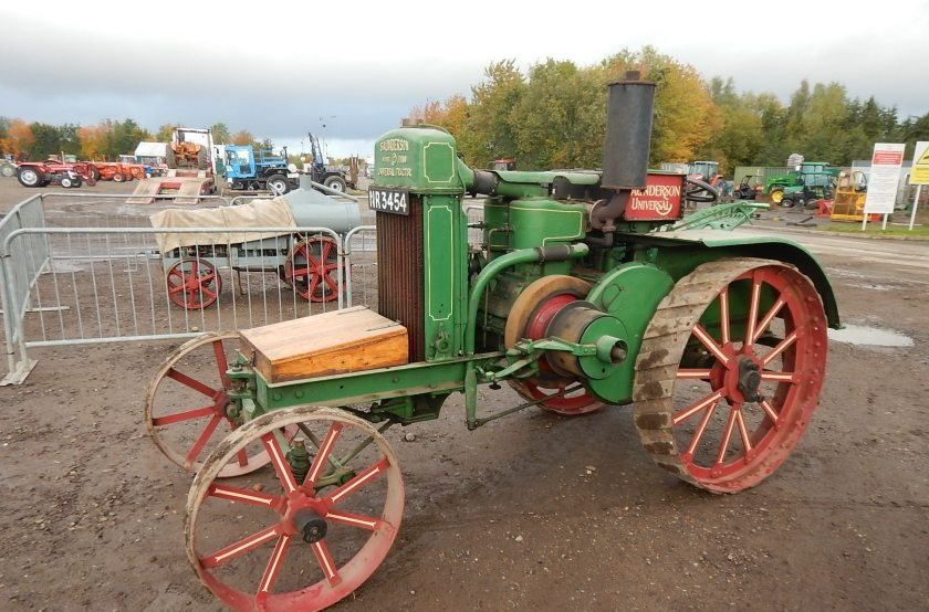 A Saunderson Model G, dating back to 1917, sold for £53,000 - the highest price paid on the day
