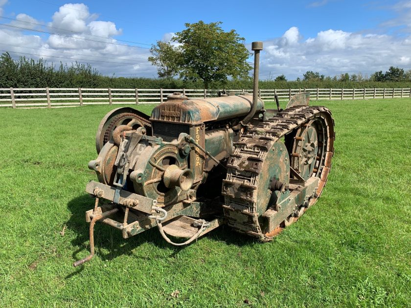 A 1941 Roadless Standard N crawler tractor was sold for £24,910