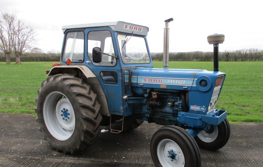 Another price on the day saw a 1976 Ford 7000 topping out at £27,336