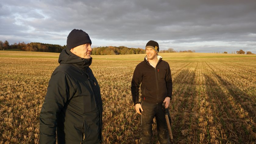 Two growers in Angus, Scotland are analysing grain nutrient levels