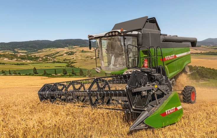 New features have been unveiled for Fendt's shaker combine harvesters