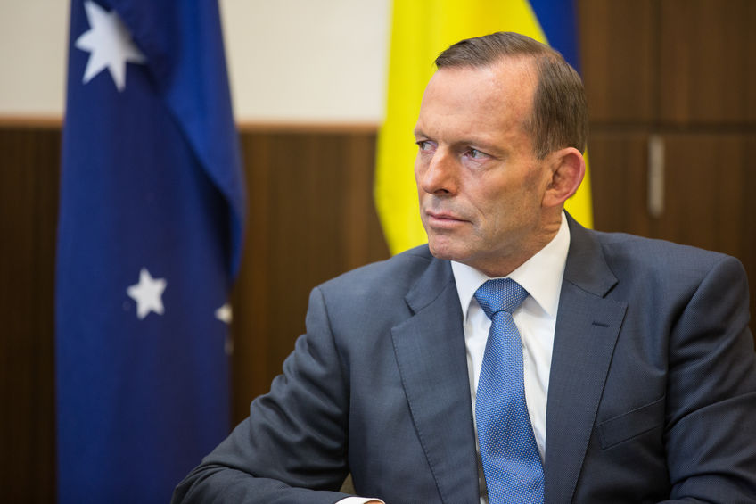Tony Abbott, Australia's former PM, told UK farmers they shouldn't be worried about post-Brexit trade deals